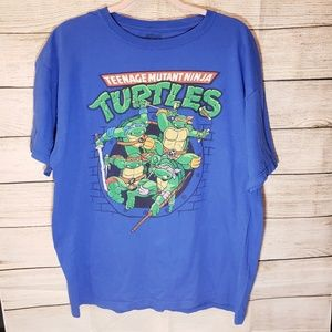 Other - Blue TMNT,80's version turtles,graphic  tee mensXL